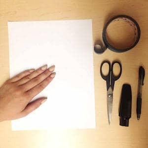 Olegature Sizing Instructions - Materials