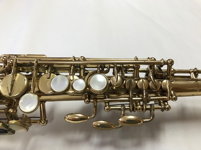 Installation of F-Fork Assembly for Selmer Mark VI Soprano Saxophone - 01