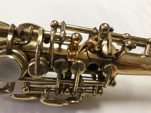 Installation of F-Fork Assembly for Selmer Mark VI Soprano Saxophone - 03
