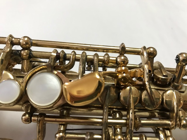 Installation of F-Fork Assembly for Selmer Mark VI Soprano Saxophone - 06