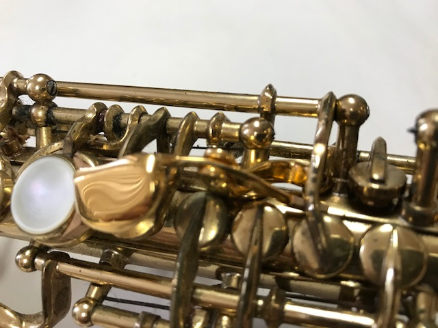Installation of F-Fork Assembly for Selmer Mark VI Soprano Saxophone - 07