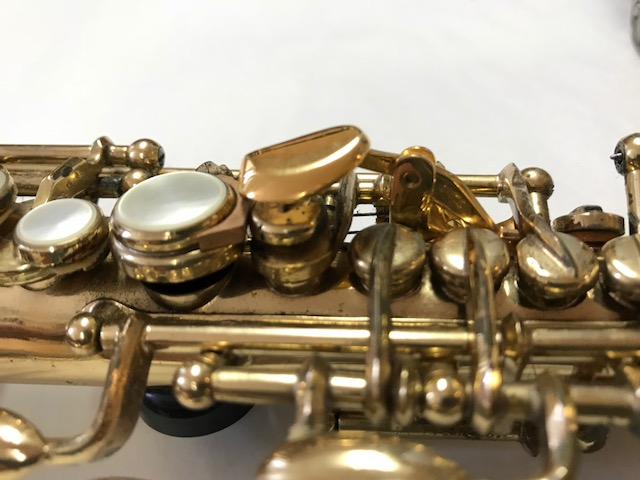 Installation of F-Fork Assembly for Selmer Mark VI Soprano Saxophone - 08