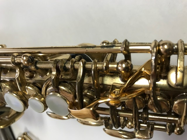 Installation of F-Fork Assembly for Selmer Mark VI Soprano Saxophone - 13