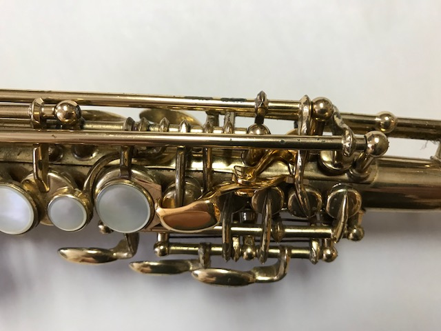 Installation of F-Fork Assembly for Selmer Mark VI Soprano Saxophone - 16