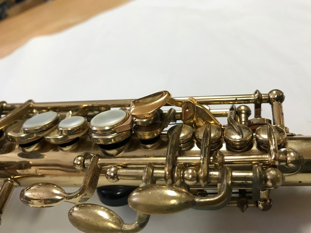 Installation of F-Fork Assembly for Selmer Mark VI Soprano Saxophone - 17