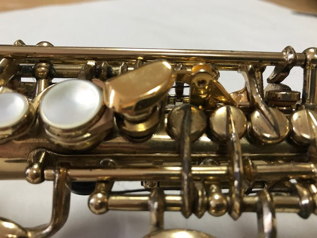 Installation of F-Fork Assembly for Selmer Mark VI Soprano Saxophone - 18