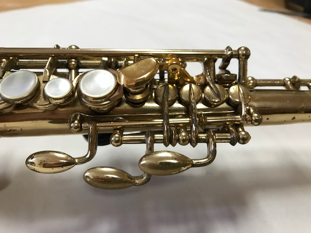 Installation of F-Fork Assembly for Selmer Mark VI Soprano Saxophone - 19