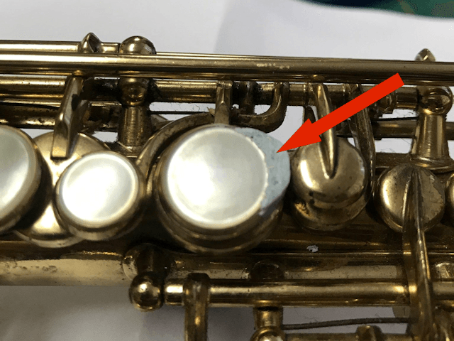 Installation of F-Fork Assembly for Selmer Mark VI Soprano Saxophone - 12